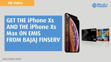 image of: Buy iPhone Xs and iPhone Xs Max this Diwali on easy EMIs