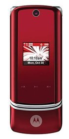 image of: Red Motorola KRZR K1m Released by Verizon Wireless