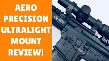image of: Aero Precision Ultralight 30mm Scope Mount (The Best Scope Mount For An AR 15!)