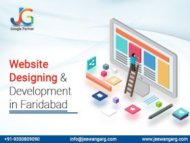 image of: India's best service provider of Website Designing Company in Faridabad - Jeewan Garg