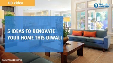 image of: 5 Ideas to Renovate Your Home this Diwali | Bajaj Finserv